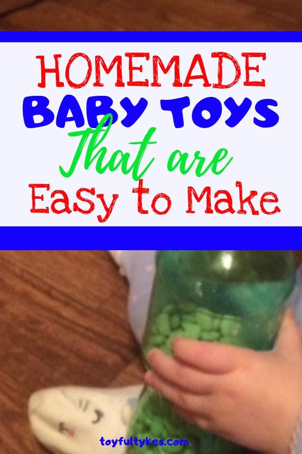 Homemade Baby Toys-baby playing with homemade rattle-toyfultykes