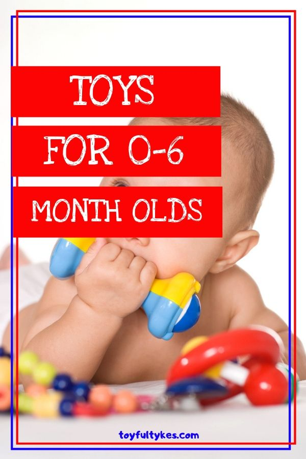 Toys for 0-6 month olds-Baby chewing on rattle-toyfultykes
