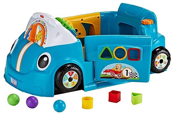 Fisher-Price Laugh and Learn Crawl Around Car Review