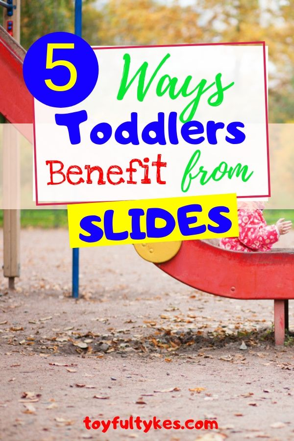 Ways Toddlers Benefit from Slides-Child sliding down slide-toyfultykes