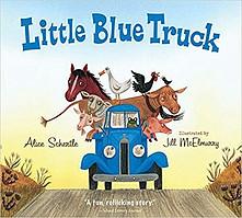 Little Blue Truck Board Book-toyfultykes