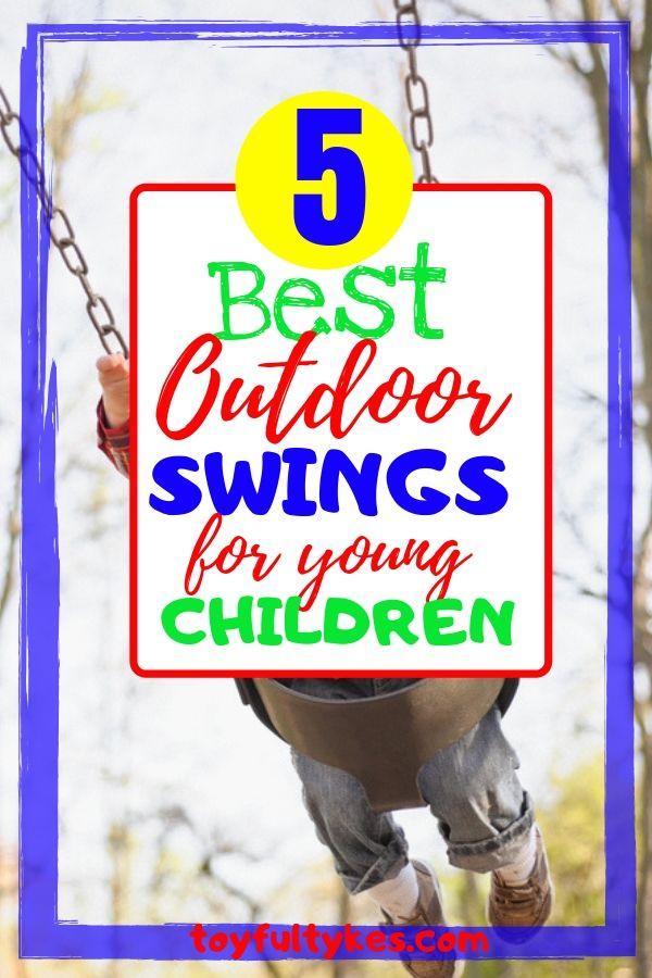 Outdoor Swings for Children-Child swinging-toyfultykes
