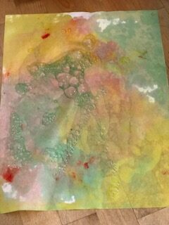 Bubble Painting Activities for Kids