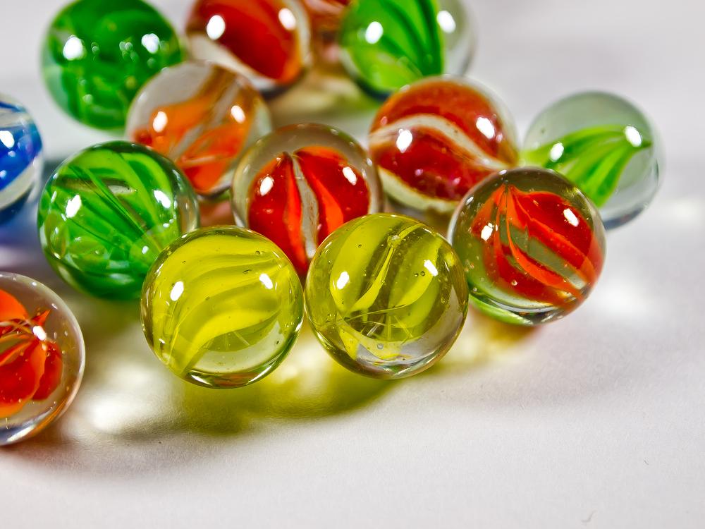 Cat-eye marbles