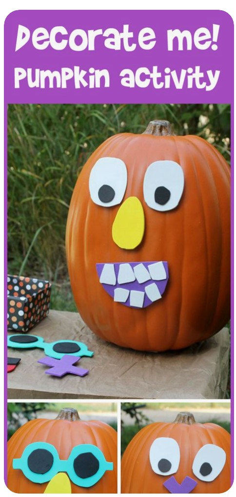 Decorate the Pumpkin Activity