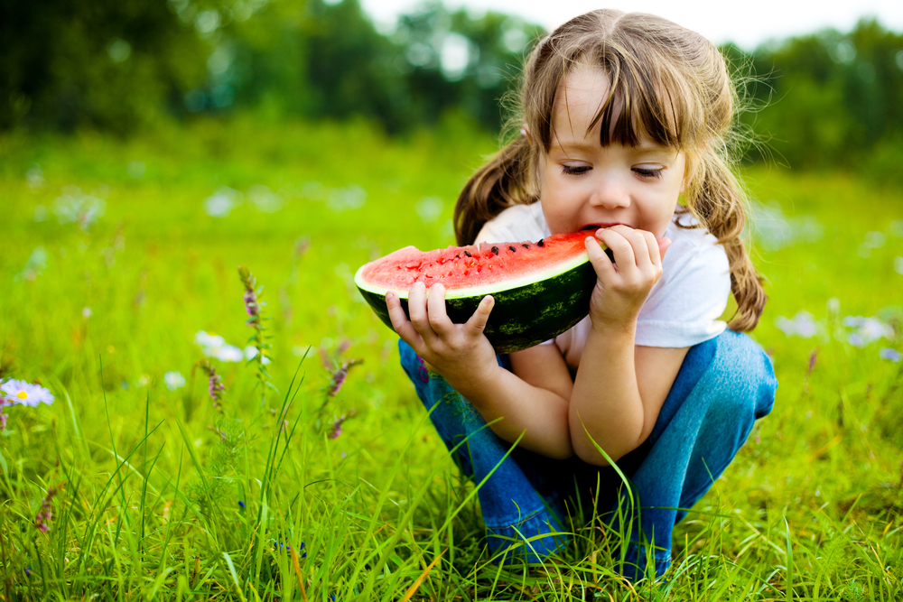 Summer Activities to do with Kids-Girl eating watermelon-toyfultykes