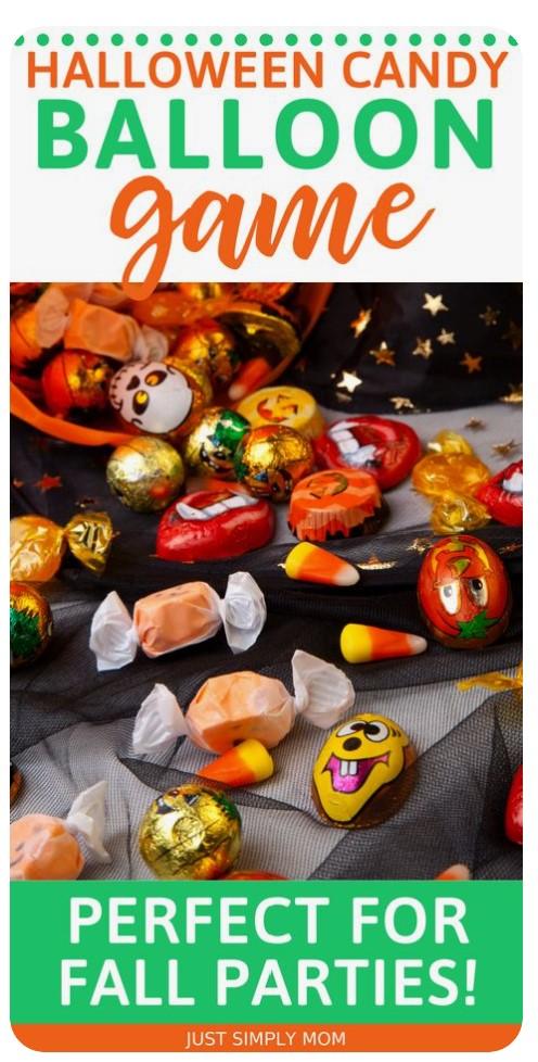 Halloween Candy Balloon Game