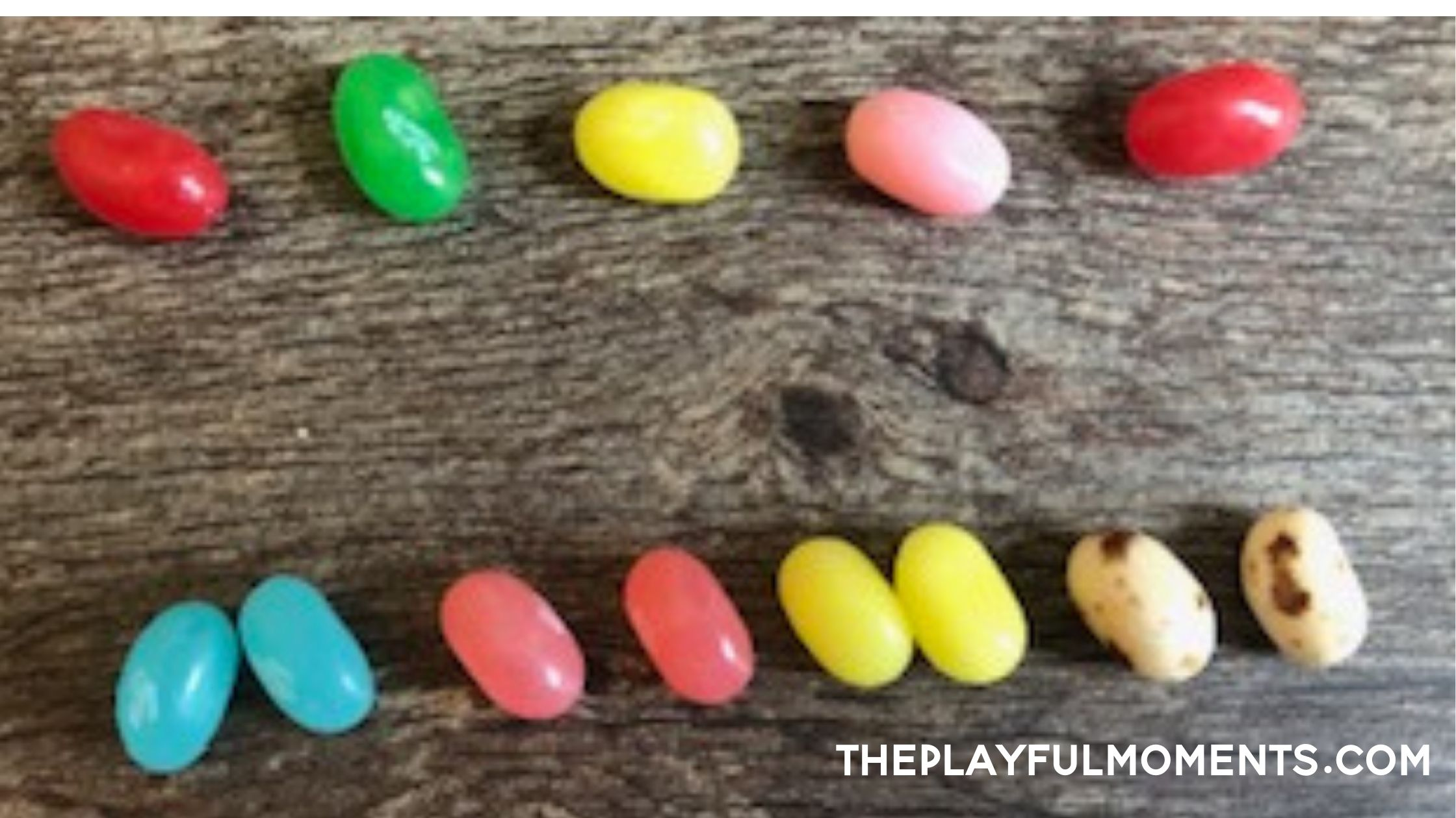 Patterns of jelly beans
