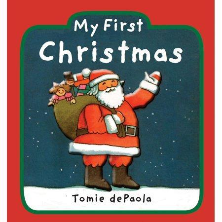Cover of holiday book for kids: My First Christmas by Tomie dePaola