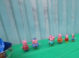 Kids Birthday Party Ideas-Peppa Pig Toy Characters-toyfultykes