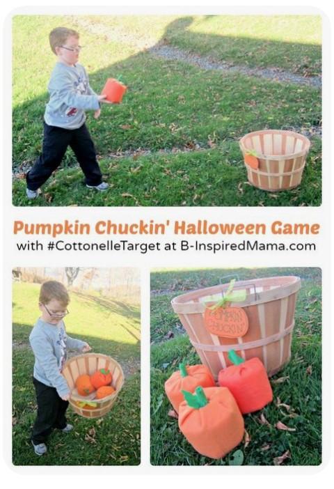 Pumpkin Chuckin Halloween Game
