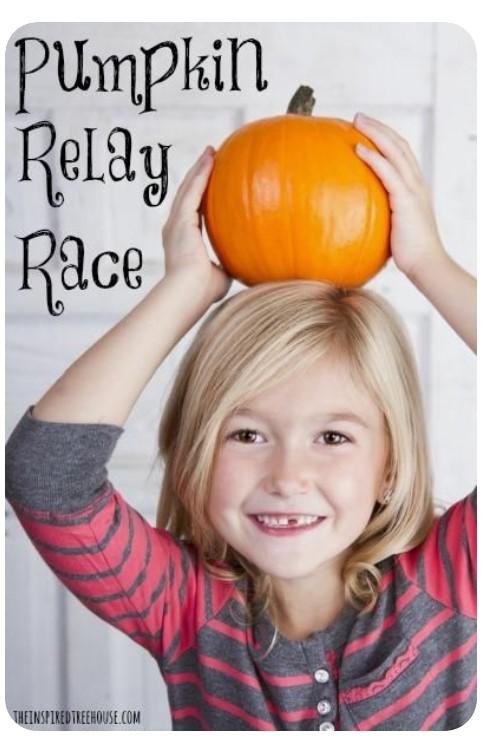 Pumpkin Relay Race