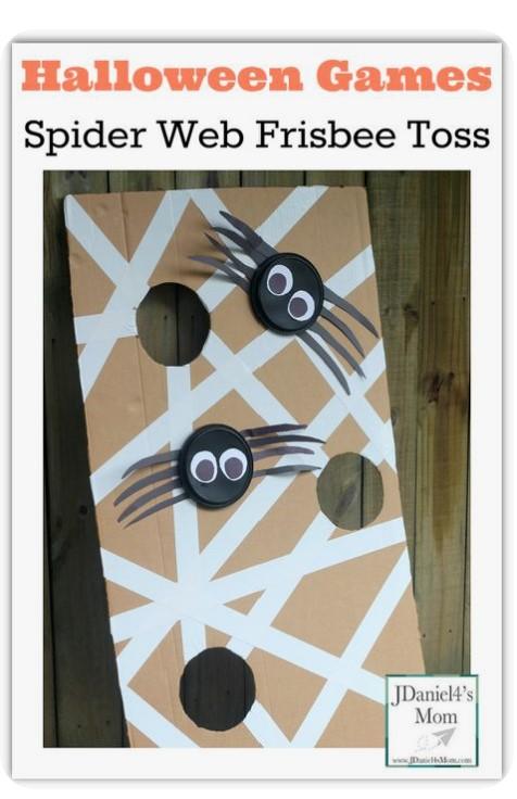 Spider Web Frisbee Toss