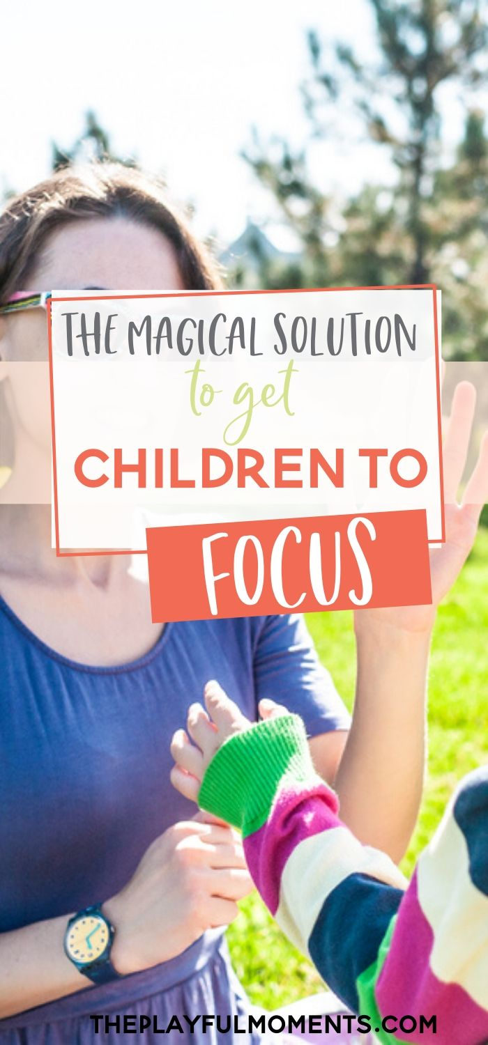 How to Get Kids to Focus