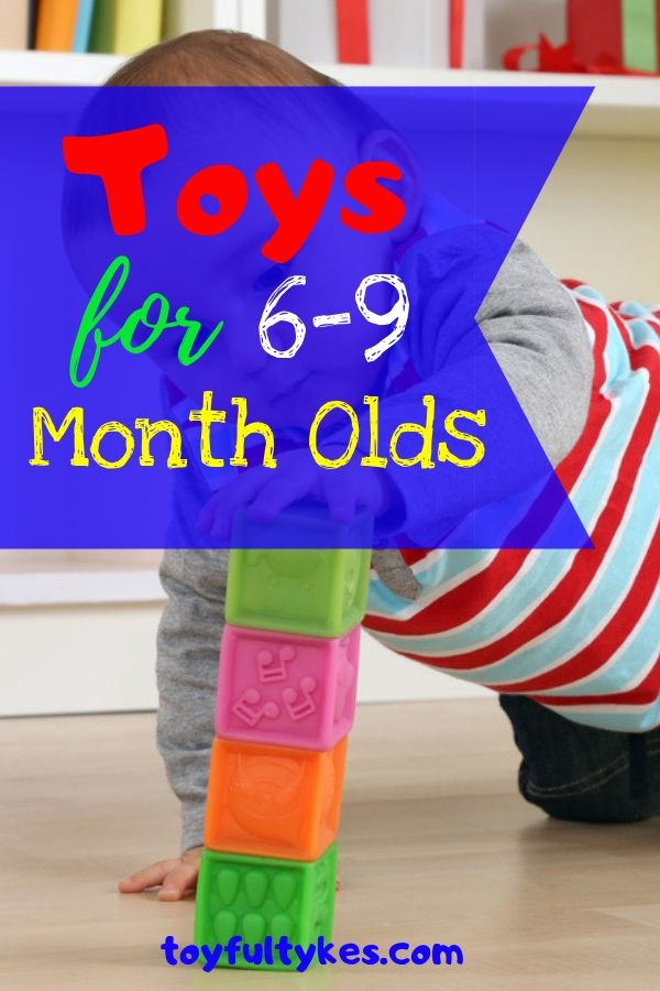 Toys for 6-9 Month Olds-Baby playing with stacking cubes-toyfultykes