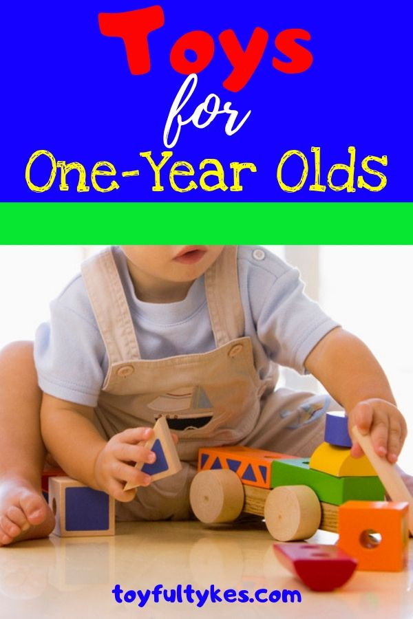Toys for One-Year Olds-Toddler playing with blocks-toyfultykes